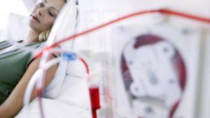 Девушка в больнице