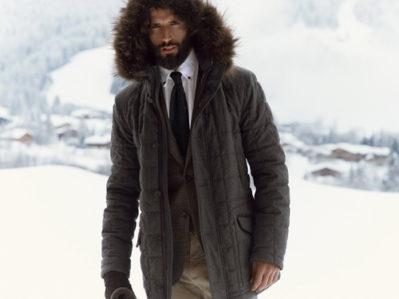 Теплая одежда на мужчине
