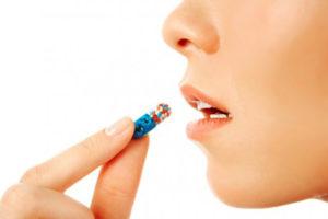 Таблетка в рот