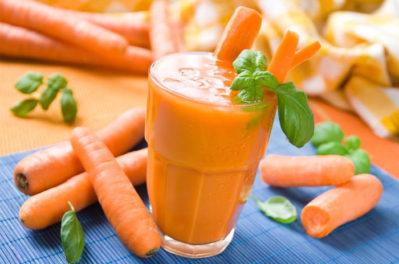 настой из моркови