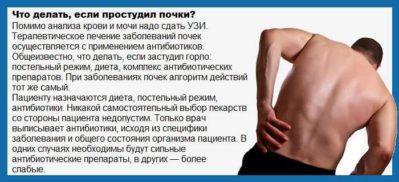мероприятия при болезни почки