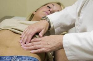 пальпация пациентки