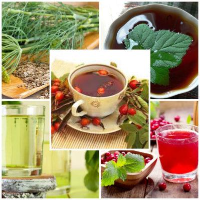 чаи, отвары и сборы