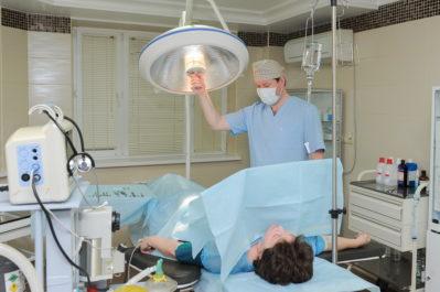 операция у женщины