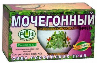 чай для интенсификации мочевыделения