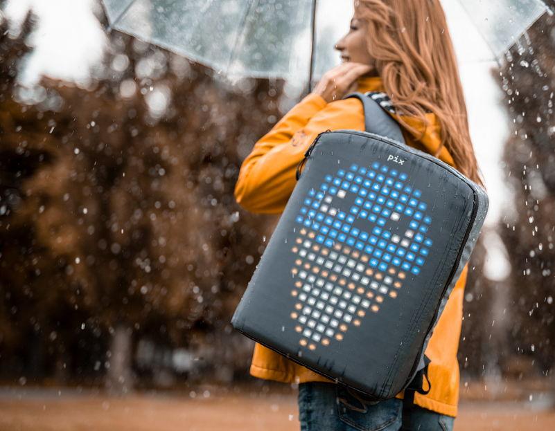 Что представляет собой рюкзак Pixel
