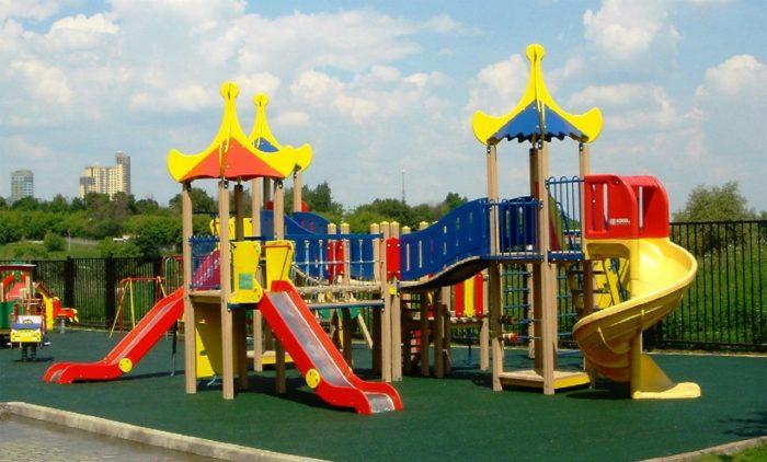 О детских деревянных площадках