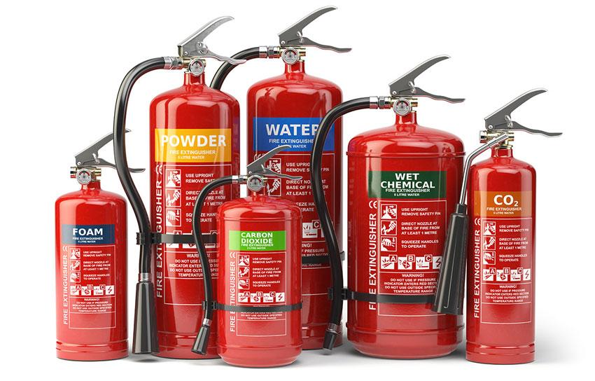 О выборе огнетушителей  и их выборе